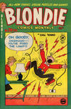 Cover for Blondie Comics Monthly (Harvey, 1950 series) #39