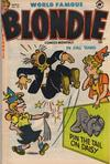 Cover for Blondie Comics Monthly (Harvey, 1950 series) #52