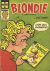 Cover for Blondie Comics Monthly (Harvey, 1950 series) #74