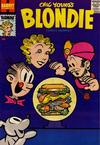 Cover for Blondie Comics Monthly (Harvey, 1950 series) #118