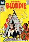 Cover for Blondie Comics Monthly (Harvey, 1950 series) #119