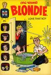 Cover for Blondie (Harvey, 1960 series) #158
