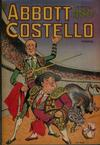 Cover for Abbott and Costello Comics (St. John, 1948 series) #5