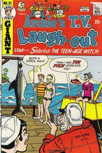 Cover Thumbnail for Archie's TV Laugh-Out (Archie, 1969 series) #21