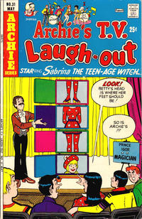 Cover Thumbnail for Archie's TV Laugh-Out (Archie, 1969 series) #31