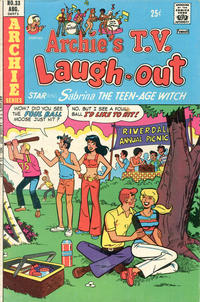Cover Thumbnail for Archie's TV Laugh-Out (Archie, 1969 series) #33