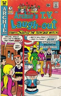 Cover Thumbnail for Archie's TV Laugh-Out (Archie, 1969 series) #40