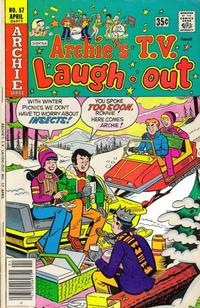 Cover Thumbnail for Archie's TV Laugh-Out (Archie, 1969 series) #57