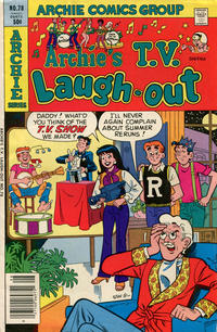 Cover Thumbnail for Archie's TV Laugh-Out (Archie, 1969 series) #78