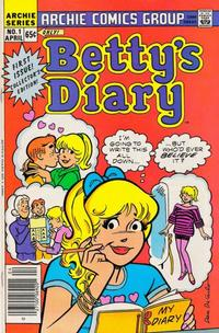 Cover Thumbnail for Betty's Diary (Archie, 1986 series) #1