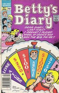 Cover Thumbnail for Betty's Diary (Archie, 1986 series) #7