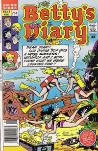 Cover Thumbnail for Betty's Diary (Archie, 1986 series) #19 [Newsstand]