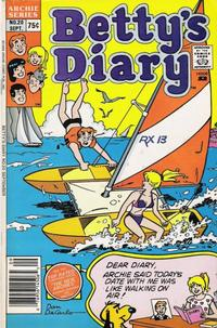 Cover Thumbnail for Betty's Diary (Archie, 1986 series) #20 [Newsstand]