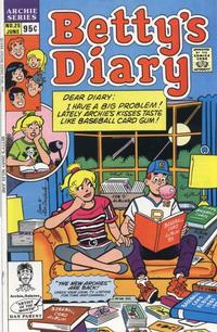 Cover Thumbnail for Betty's Diary (Archie, 1986 series) #25 [Direct]