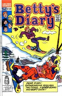 Cover Thumbnail for Betty's Diary (Archie, 1986 series) #32 [Direct]