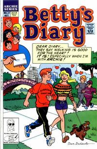 Cover Thumbnail for Betty's Diary (Archie, 1986 series) #37 [Direct]