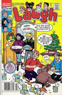 Cover Thumbnail for Laugh (Archie, 1987 series) #19 [Newsstand]