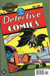 Cover Thumbnail for Millennium Edition: Detective Comics 27 (DC, 2000 series)