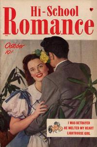 Cover Thumbnail for Hi-School Romance (Harvey, 1949 series) #1