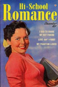 Cover Thumbnail for Hi-School Romance (Harvey, 1949 series) #2