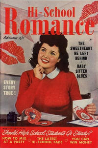 Cover Thumbnail for Hi-School Romance (Harvey, 1949 series) #3