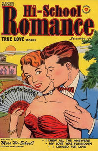 Cover Thumbnail for Hi-School Romance (Harvey, 1949 series) #6