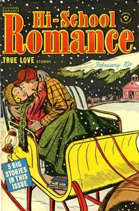 Cover Thumbnail for Hi-School Romance (Harvey, 1949 series) #7