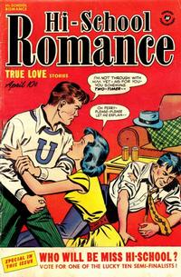 Cover Thumbnail for Hi-School Romance (Harvey, 1949 series) #8