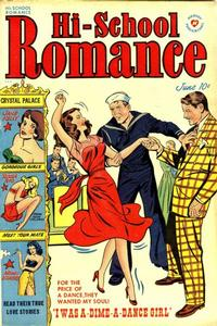 Cover Thumbnail for Hi-School Romance (Harvey, 1949 series) #9