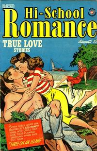 Cover Thumbnail for Hi-School Romance (Harvey, 1949 series) #10
