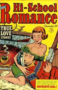Cover Thumbnail for Hi-School Romance (Harvey, 1949 series) #12
