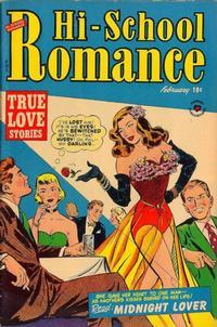 Cover Thumbnail for Hi-School Romance (Harvey, 1949 series) #13