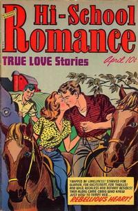 Cover for Hi-School Romance (Harvey, 1949 series) #20