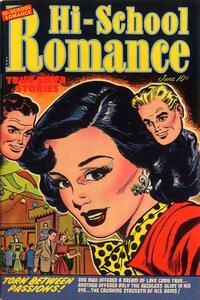 Cover Thumbnail for Hi-School Romance (Harvey, 1949 series) #21