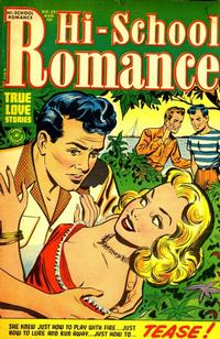 Cover Thumbnail for Hi-School Romance (Harvey, 1949 series) #22
