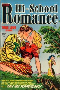 Cover Thumbnail for Hi-School Romance (Harvey, 1949 series) #23