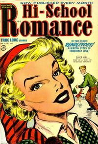 Cover Thumbnail for Hi-School Romance (Harvey, 1949 series) #25
