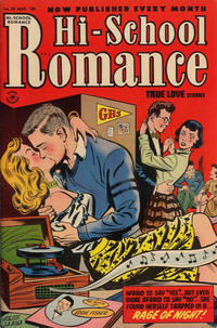 Cover Thumbnail for Hi-School Romance (Harvey, 1949 series) #26