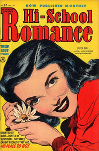 Cover Thumbnail for Hi-School Romance (Harvey, 1949 series) #27