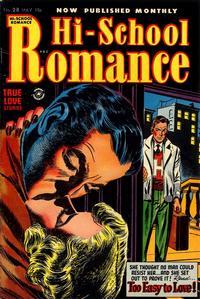 Cover Thumbnail for Hi-School Romance (Harvey, 1949 series) #28