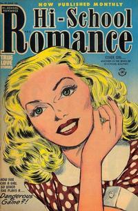 Cover Thumbnail for Hi-School Romance (Harvey, 1949 series) #29