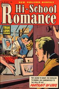 Cover Thumbnail for Hi-School Romance (Harvey, 1949 series) #30