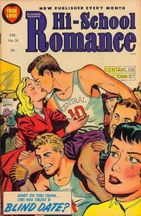 Cover Thumbnail for Hi-School Romance (Harvey, 1949 series) #36