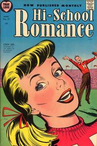 Cover Thumbnail for Hi-School Romance (Harvey, 1949 series) #37