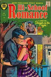 Cover for Hi-School Romance (Harvey, 1949 series) #38