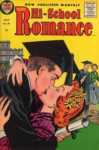 Cover Thumbnail for Hi-School Romance (Harvey, 1949 series) #40