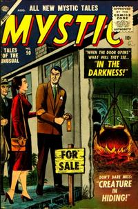 Cover Thumbnail for Mystic (Marvel, 1951 series) #50