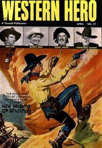 Cover Thumbnail for Western Hero (Fawcett, 1949 series) #77