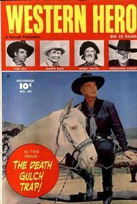 Cover Thumbnail for Western Hero (Fawcett, 1949 series) #84