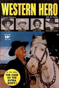 Cover Thumbnail for Western Hero (Fawcett, 1949 series) #86
